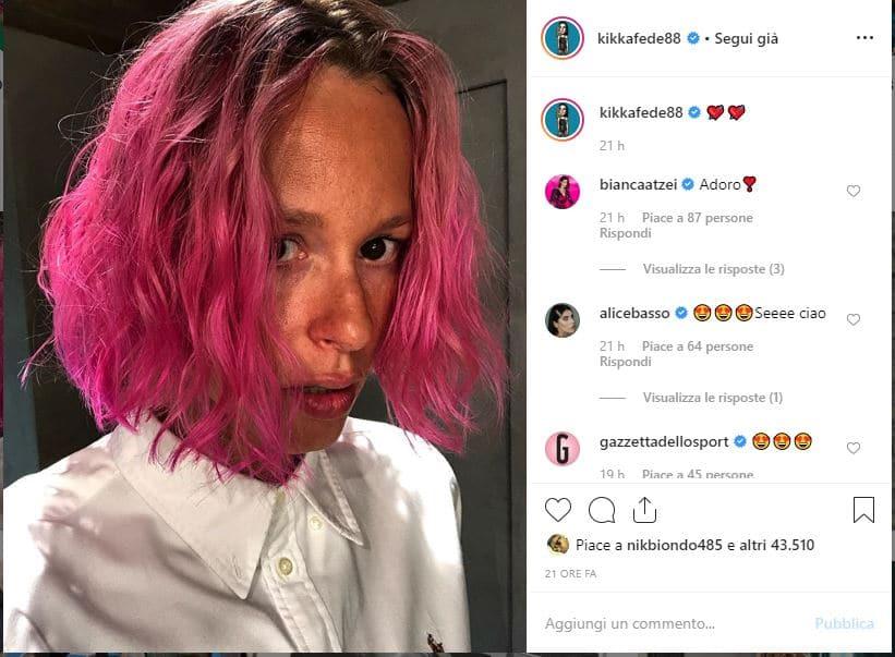 Federica Pellegrini capelli