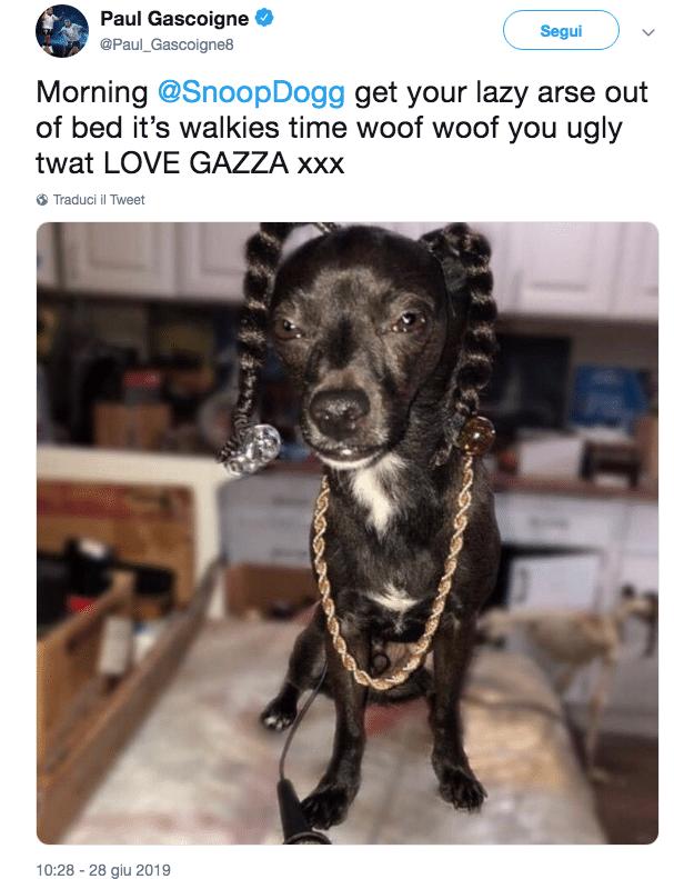 Gascoigne Snoop Dogg
