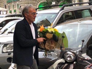 Massimo Giletti arriva