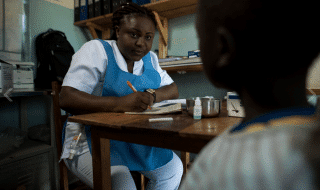 Malaria Zambia Mirriam Banda Chisamba