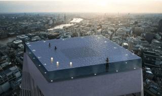 Piscina tetto Londra