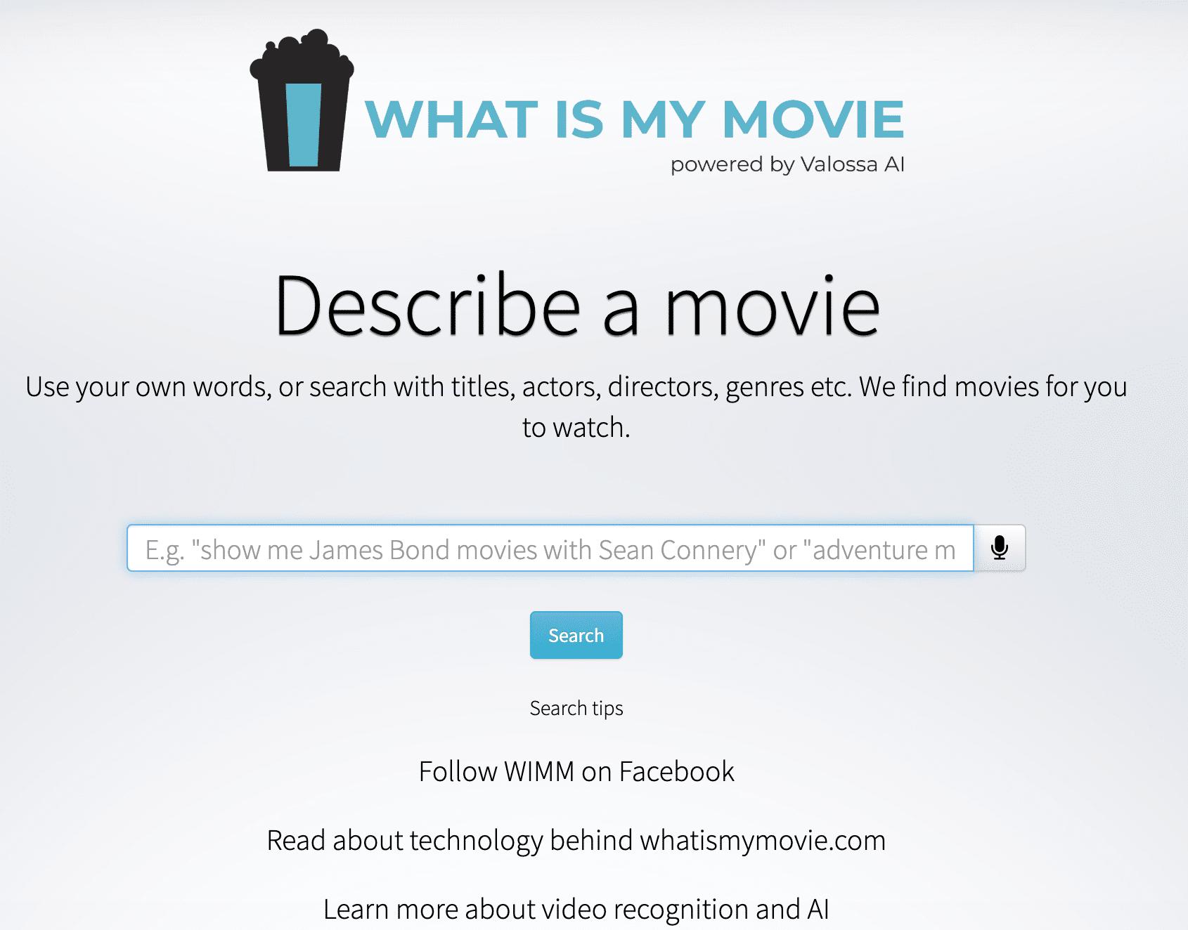 Film motore di ricerca titolo