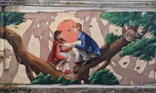 Valogno murales