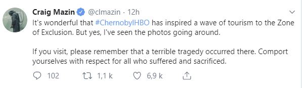 chernobyl selfie
