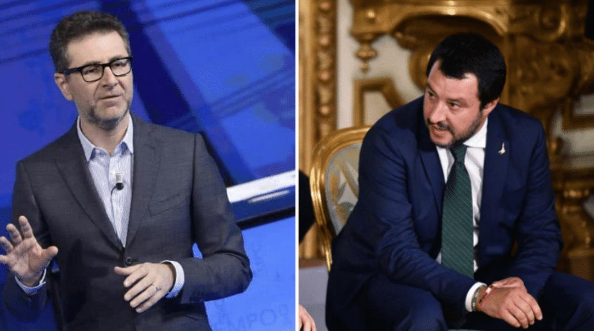 Fazio ironizza su Salvini: