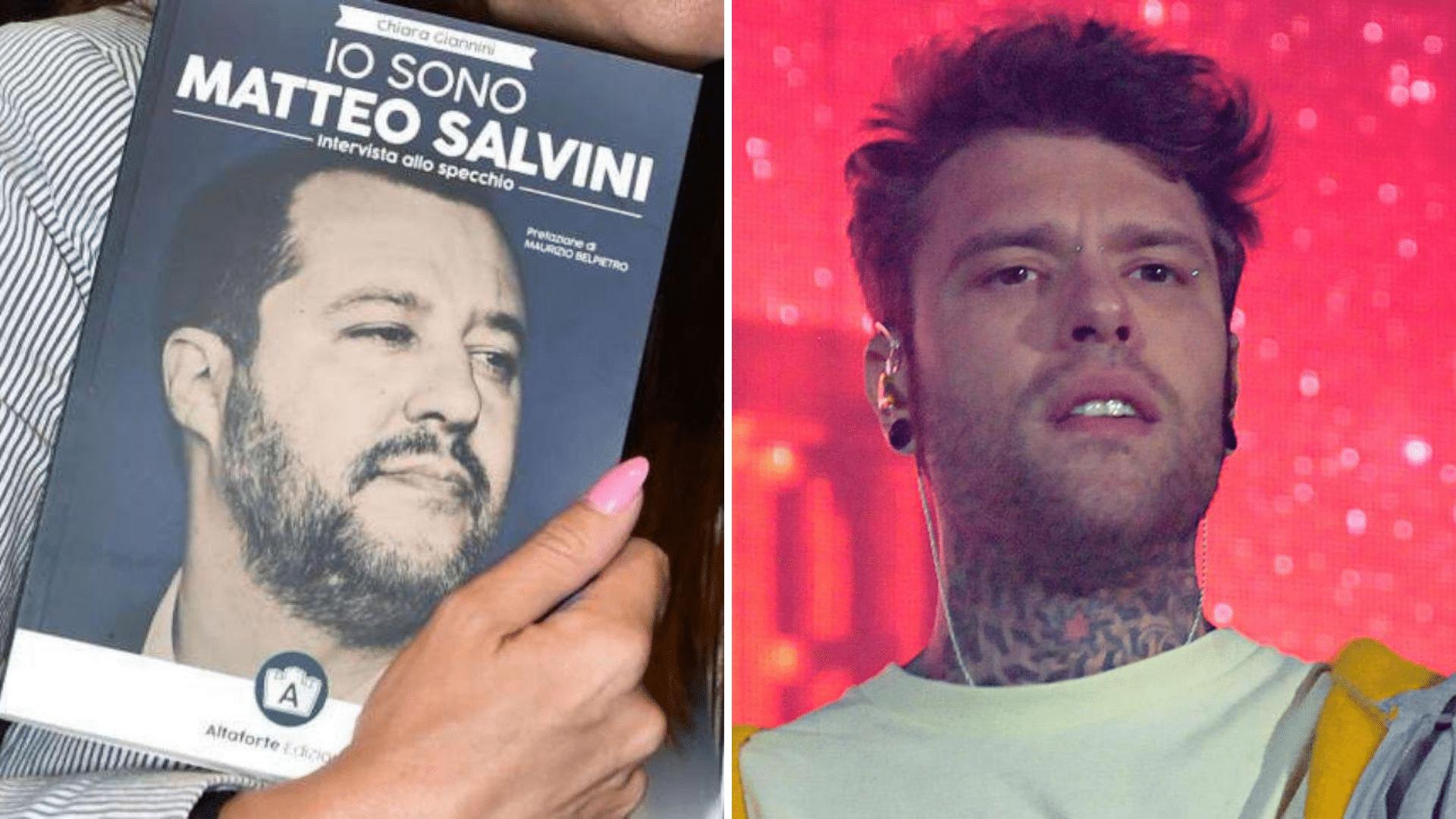 Fedez querelato dall'autrice del libro su Salvini: il rapper andrà a giudizio