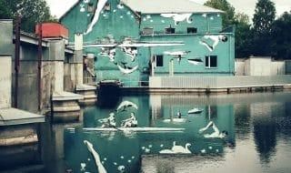 murale riflesso acqua lituania