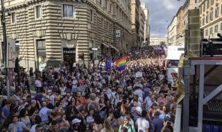 gay pride roma strade chiuse