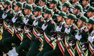 guardie della rivoluzione iran pasdaran drone usa