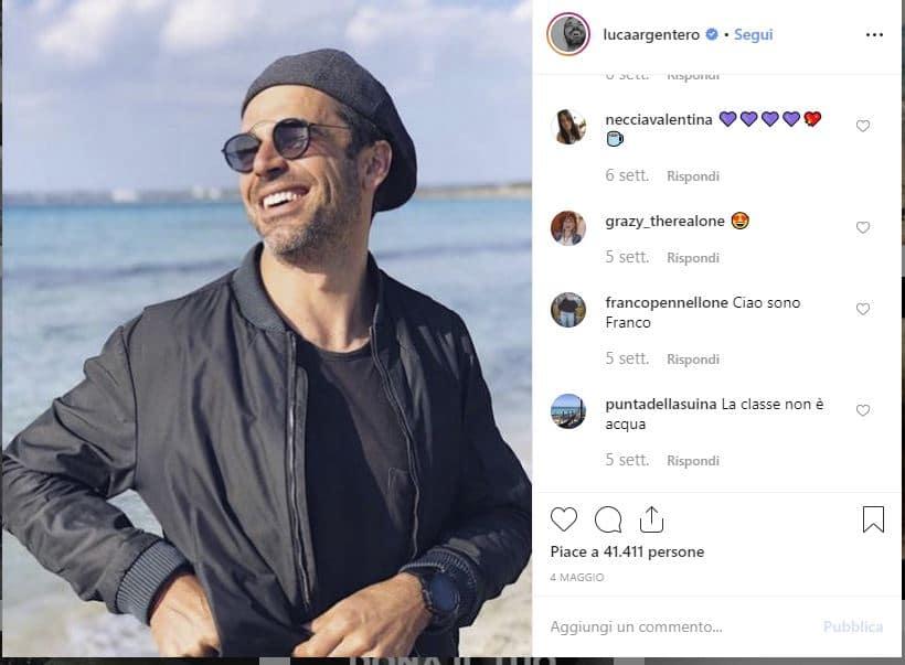 luca argentero instagram