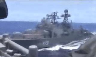 mar cinese navi guerra collisione