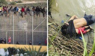 Migranti annegati America muri |