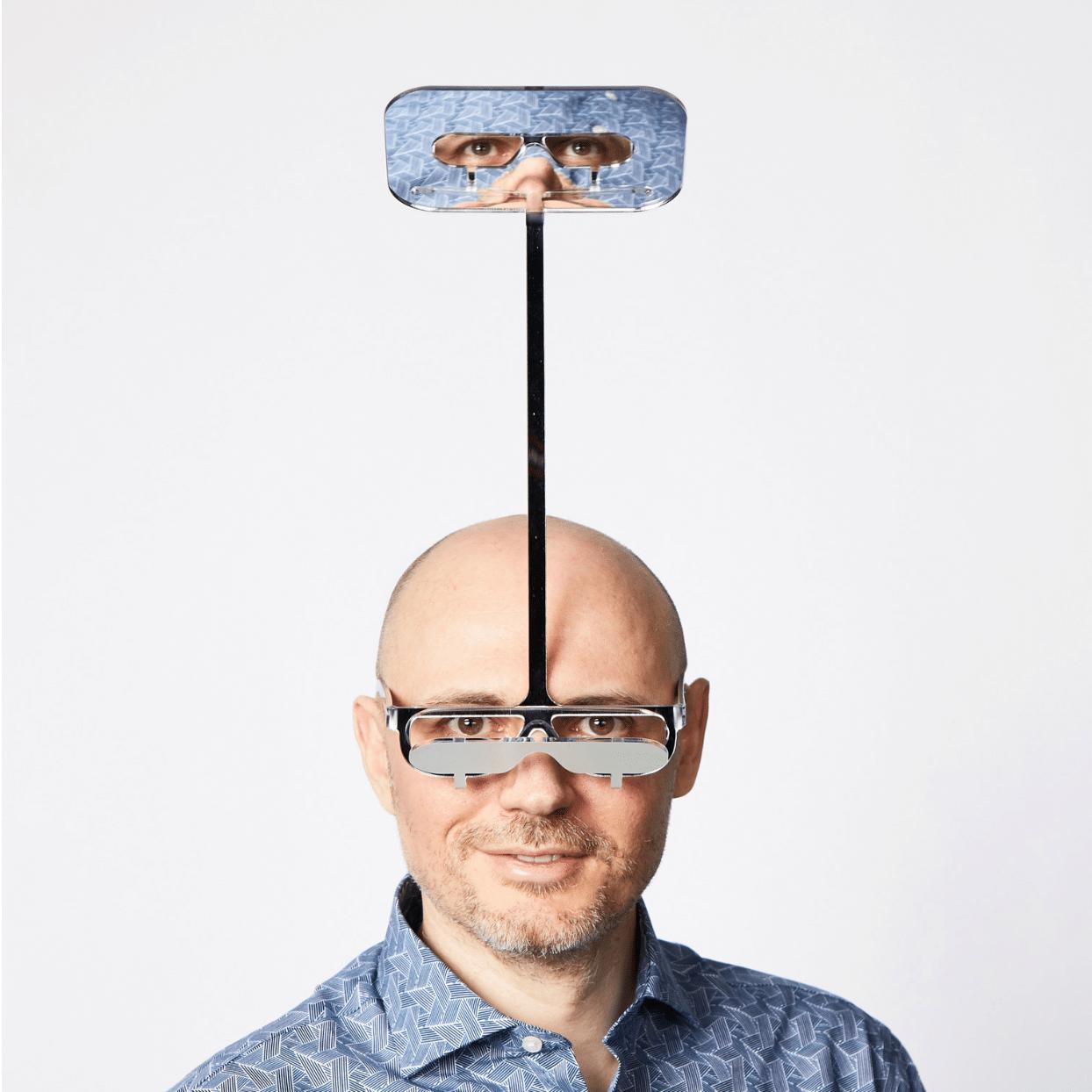 occhiali periscopio persone basse