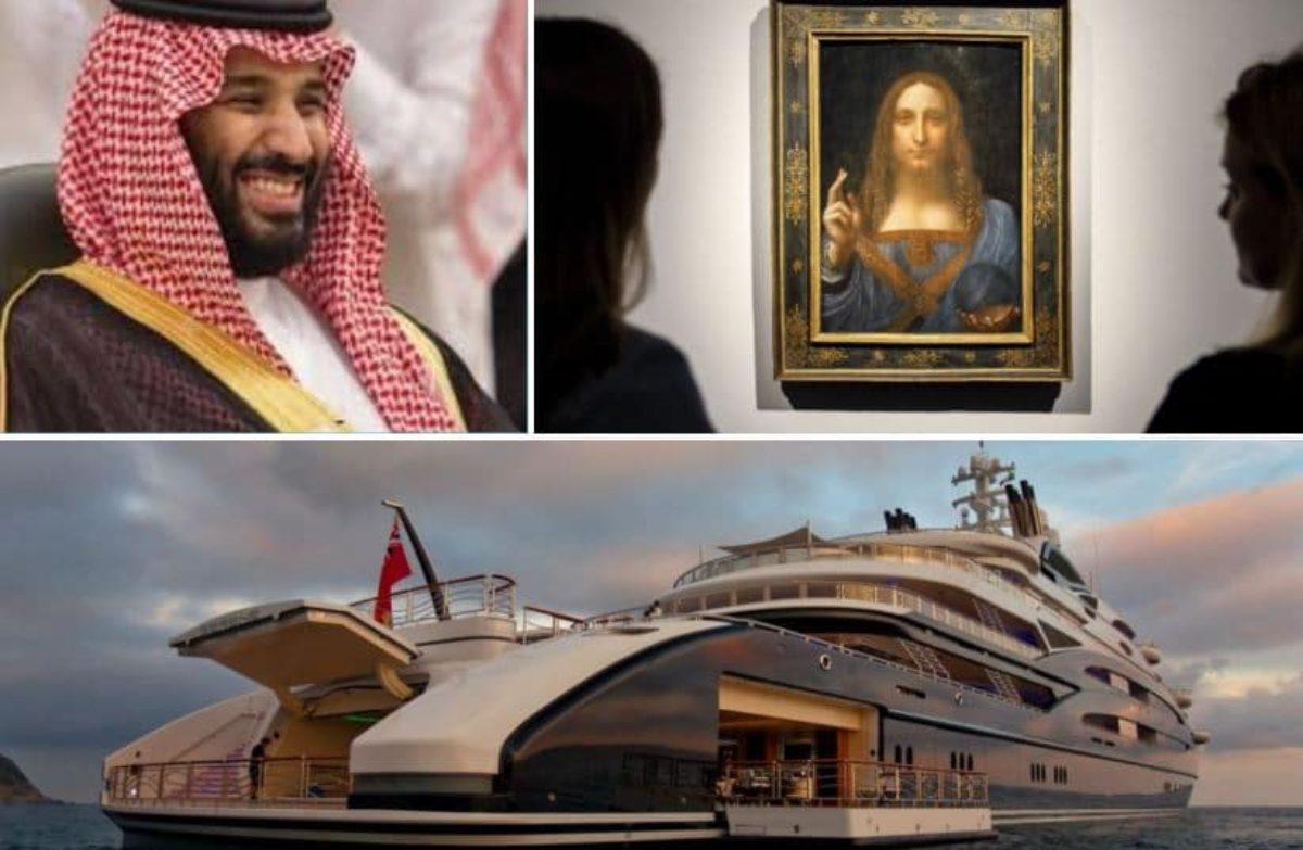 Salvator Mundi Leonardo Da Vinci sullo yacht di Mohammed Bin Salman