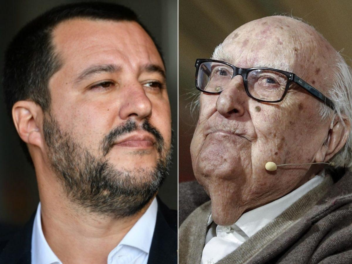 La polemica tra Salvini e Camilleri