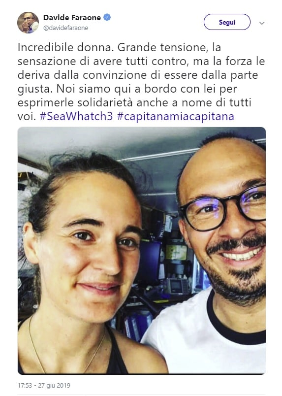 sea watch parlamentari