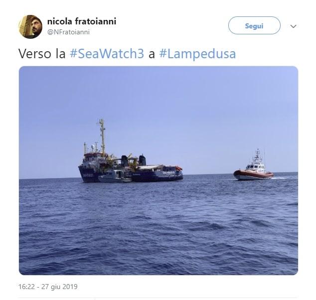 sea watch parlamentari fratoianni