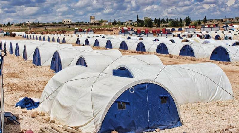 siria campi profughi afrin