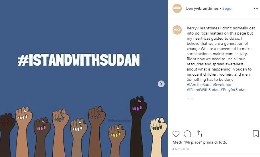 Sudan Sui Social La Campagna Per Denunciare Le Violenze Dellesercito