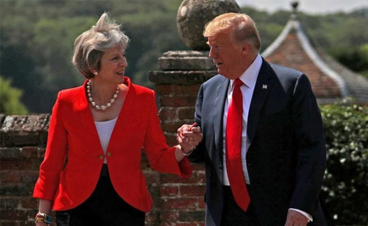 trump londra accordo commerciale