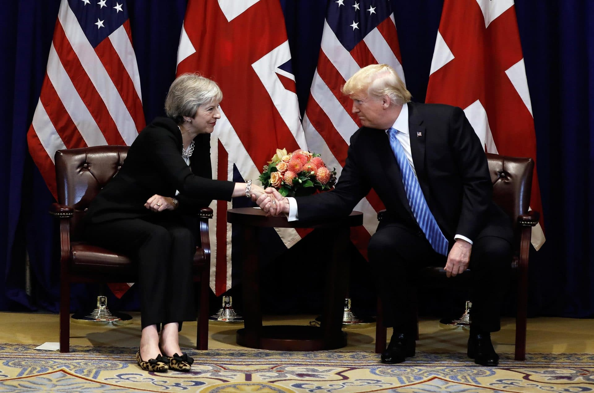 Donald Trump visita a Londra