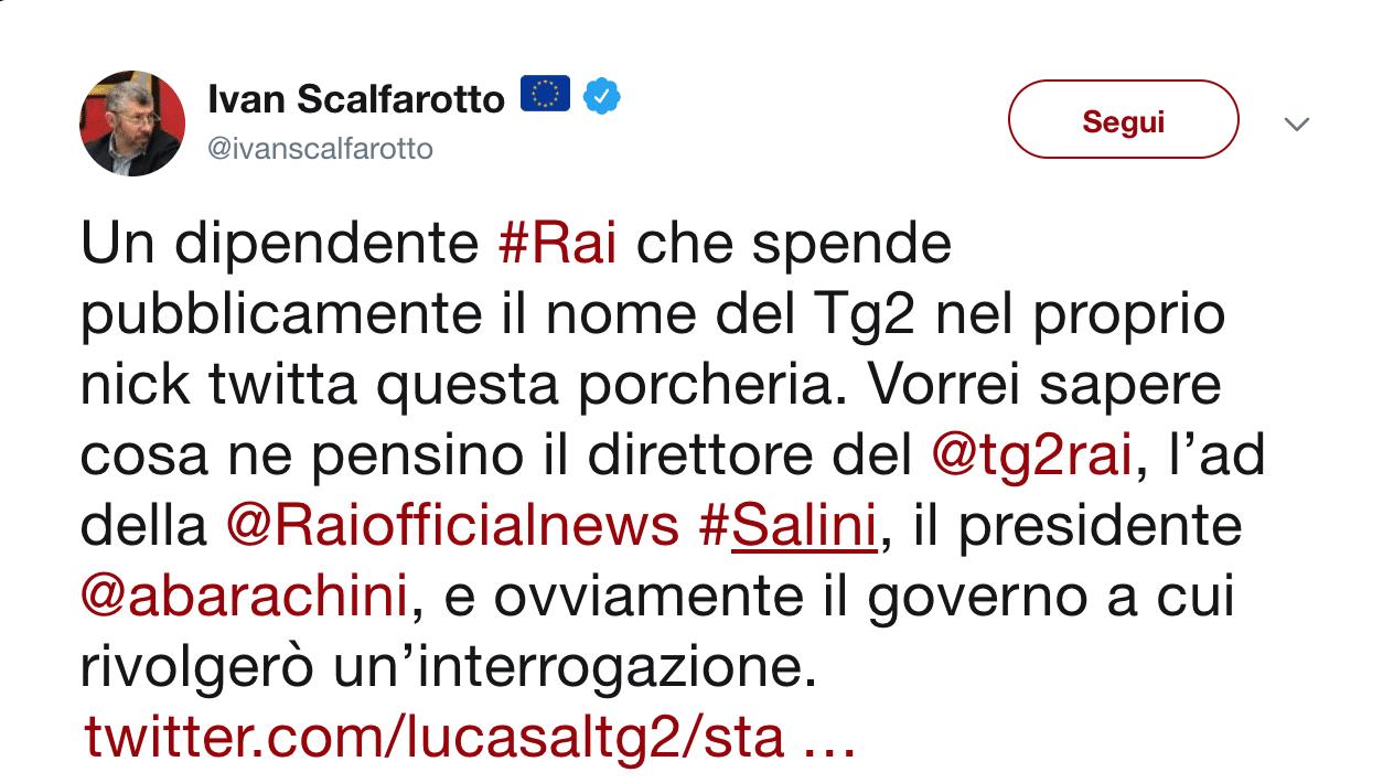 Tweet Luca Salerno Drag Queen