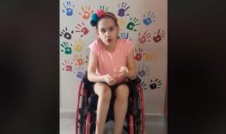 video appello bambina disabile elena