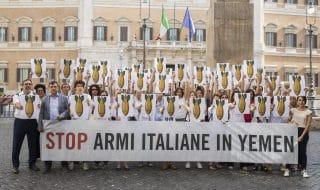 Stop armi Yemen flash mob