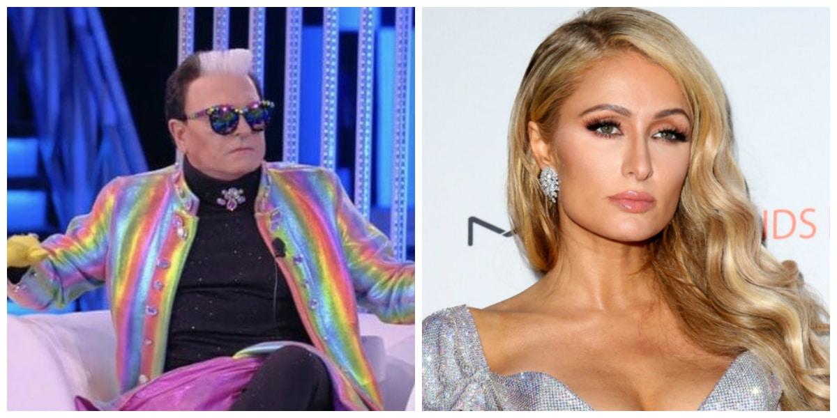Cristiano Malgioglio Paris Hilton