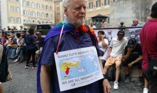 Manifestazione contro Decreto Sicurezza Bis