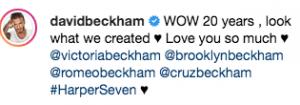 Victoria David Beckham matrimonio