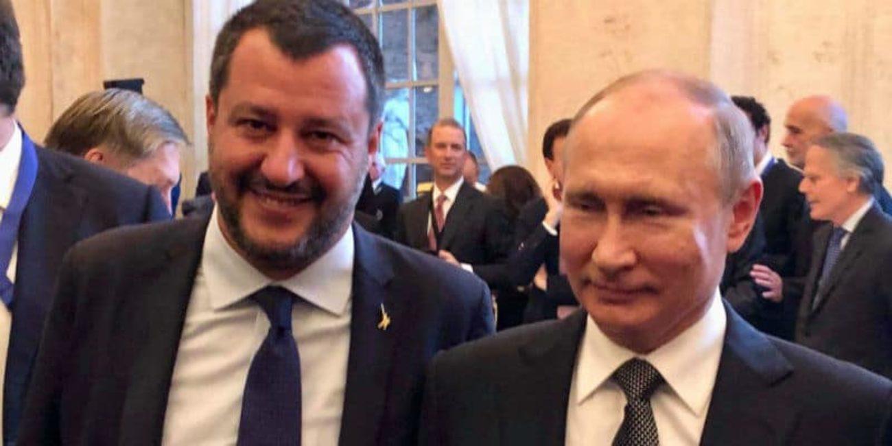 Fondi russi alla Lega, Salvini: