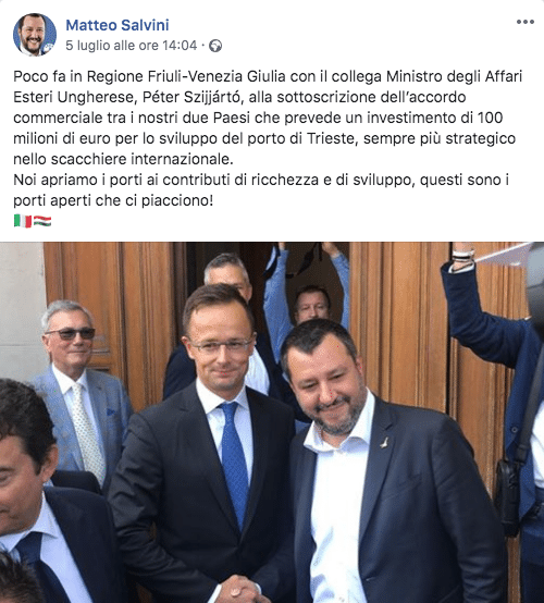salvini news