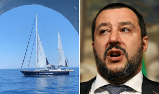 Salvini Alex Mediterranea Lampedusa