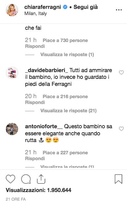 Piedi Chiara Ferragni video