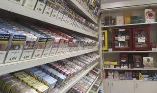 Gamba amputata sigarette