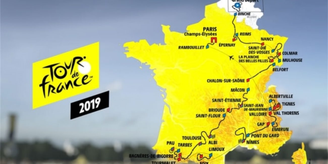 Calendario Tour De France 2019.Tour De France 2019 Inizio Squadre Tappe Calendario