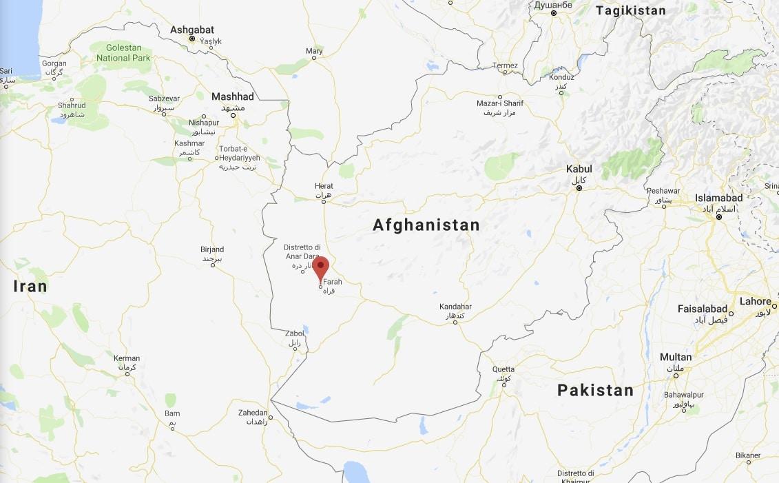 afghanistan farah