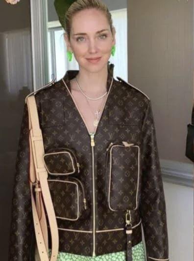 chiara ferragni giacca louis vuitton costo