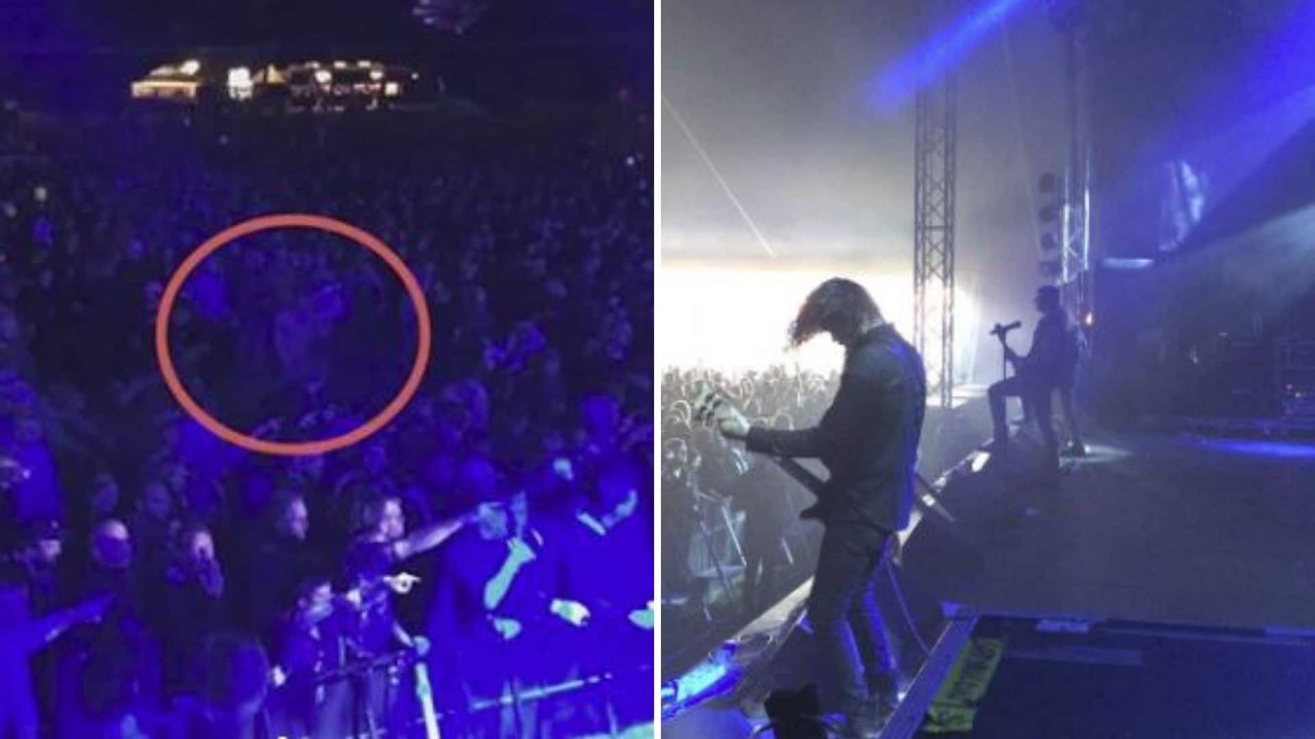 Roskilde Festival: sesso orale tra il pubblico durante un concerto metal