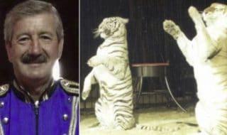domatore tigri verità morte