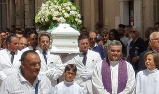 Incidente Vittoria funerale Alessio
