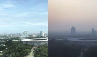 giacarta smog