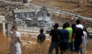 israele demolizione case palestinesi