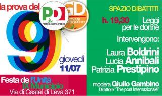 Festa dell'Unità IX Municipio