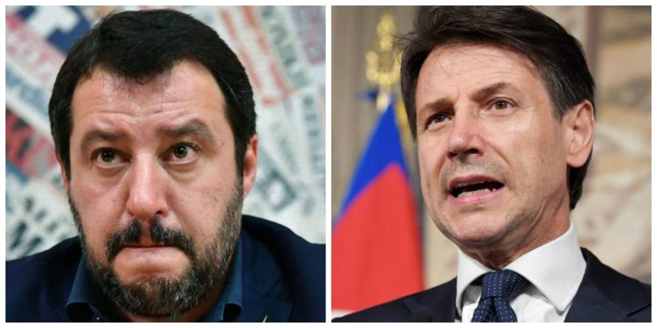 Fondi russi, riferirà Conte in Senato. Ma il Pd vuole Salvini