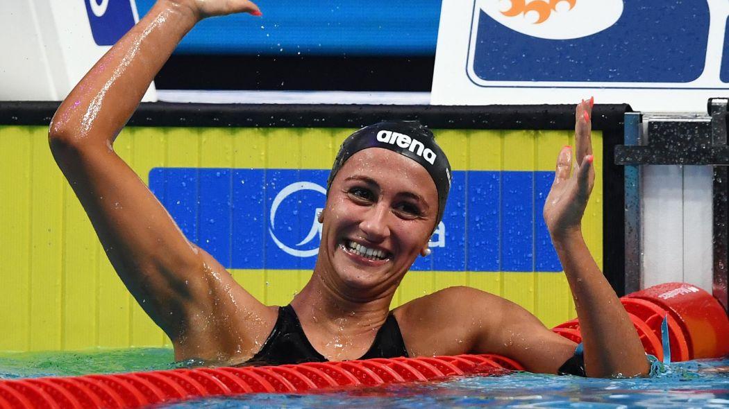Quadarella oro 1500 stile Mondiali