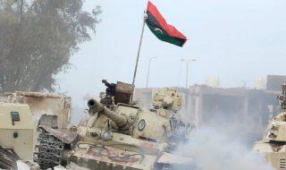 esercito libico raid tripoli