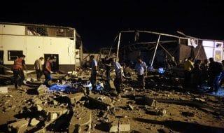 migranti libia raid