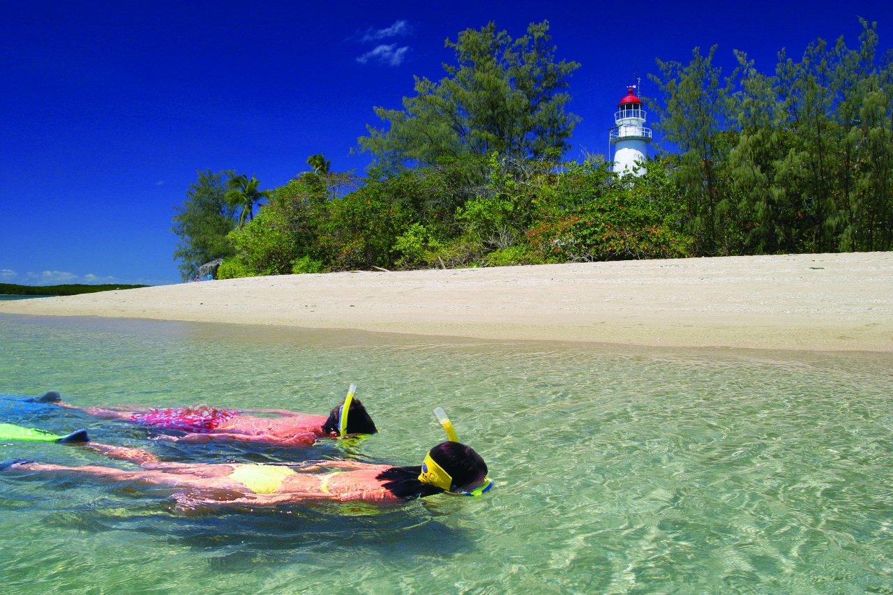 custode isola tropicale